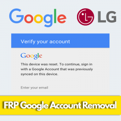 LG FRP GOOGLE ACCOUNT...